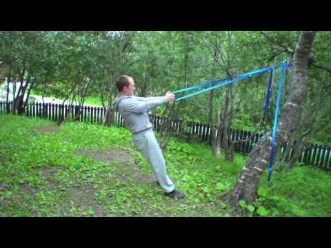 Personlig Trener i Bodø viser slynge-øvelser